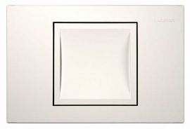 Клавиша Geberit Delta 40 115.130.11.1, белая, пластик, 246x164мм