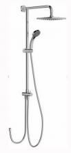 Душевая система Jacob Delafon EO ECO E45893-CP для душа, хром, 200x200 мм