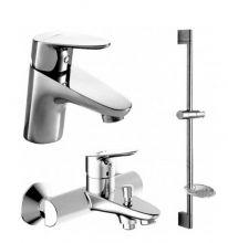Комплект для ванны и душа комнаты Bravat Drop F00308