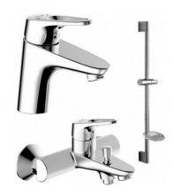 Комплект для ванны и душа комнаты Bravat Drop-D F00312
