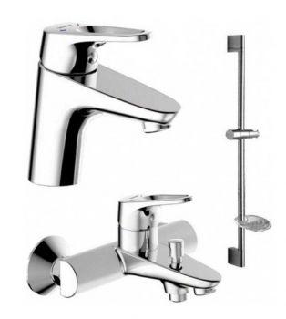 Комплект для ванной комнаты Bravat Drop-D F00312
