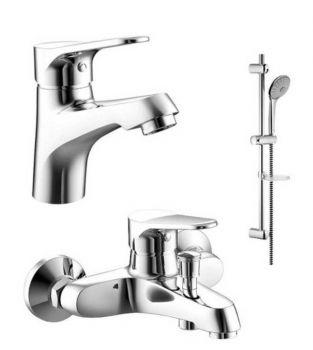 Комплект для ванной комнаты Bravat Eco F00307C/00313С