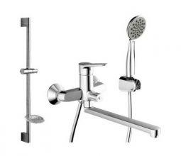 Комплект для ванны и душа комнаты Bravat Eco F00408C/00414С