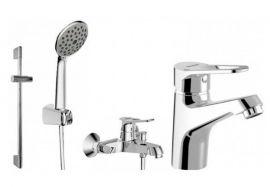 Комплект для ванны и душа комнаты Bravat Eco-D F00314C