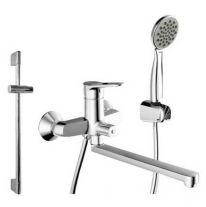Комплект для ванной комнаты Bravat Eco-D F00415C