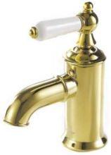 Смеситель Bravat Art River F175109G для раковины, золото