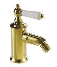 Смеситель Bravat Art River F375109G для биде, цвет золото