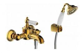 Смеситель Bravat Art River F675109U-B для ванны и душа, цвет бронза