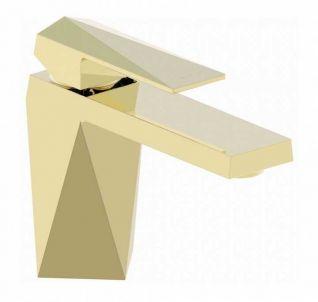 Смеситель Bravat Iceberg F176110G для раковины, цвет золото