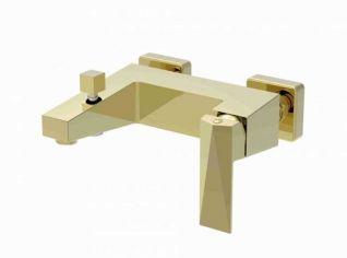 Смеситель Bravat Iceberg F676110G-01 для ванны, цвет золото