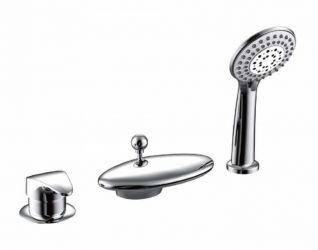 Смеситель Bravat Niagara F5140197CP-RUS для ванны
