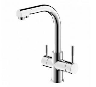 Смеситель Bravat Palace F729261CP для кухонной мойки с подключением к фильтру с питьевой водой