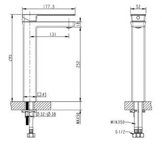 Смеситель Bravat Phillis F156101C-A-RUS для раковины