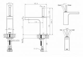 Смеситель Bravat Spring F179113C для раковины