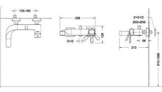 Смеситель Bravat Wave F674108C-01 для ванны