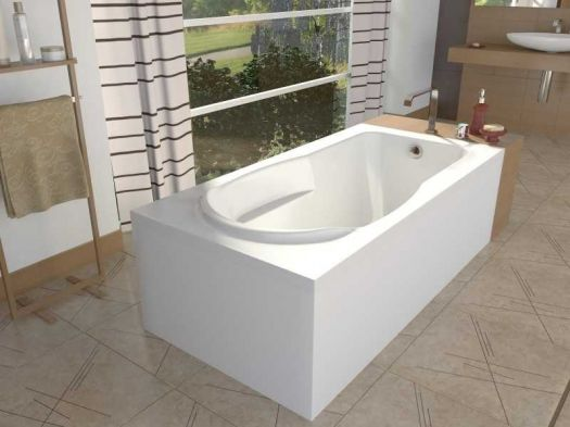 Акриловая ванна ALPEN Karmenta 160*70