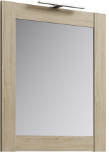 Зеркало Aqwella Simphony Л7Sim.02.07/DS дуб сонома