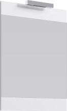 Зеркало с подсветкой Aqwella Бриг Л6/W Br.02.06/W белый