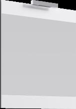 Зеркало с подсветкой Aqwella Бриг Л7/W Br.02.07/W белый