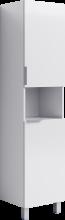 Пенал напольный Aqwella Бриг П4к/W Br.05.04.K/W белый