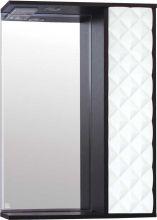 Зеркальный шкаф Style Line Агат 60/С белый/венге