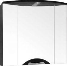 Зеркальный шкаф Style Line Жасмин-2 76/С Люкс, черный