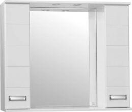 Зеркальный шкаф Style Line Ирис 100/С белый