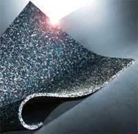 Звукоизоляционный мат Tece Drainbase 660001. Размер 1250 х 1250 мм, толщина 6 мм.