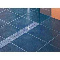 Решетка TECE «Quadratum» арт. 600850, из нержавеющей стали, прямая, длина 800 мм, полированная