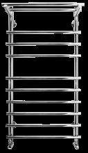 Полотенцесушитель водяной Terminus Ватра с полкой, 32/18 П10 6-3-1, 50 x 99,6 см