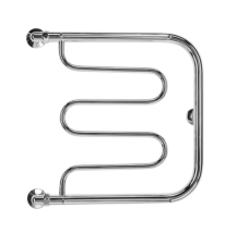 Полотенцесушитель водяной Terminus Фокстрот 50 x 60 см, 32/20, бесшовная труба