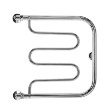 Полотенцесушитель водяной Terminus Фокстрот 60 x 70 см, 32/18, бесшовная труба