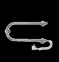 Полотенцесушитель электрический Terminus, арт.25 ПСЭ п-обр, П-образный 50 x 22,5 см