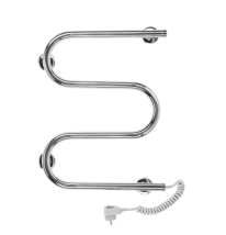 Полотенцесушитель электрический Terminus M-образный, арт.25 ПСЭ м-обр, 60 x 35 см