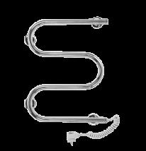 Полотенцесушитель электрический Terminus M-образный, арт.25 ПСЭ м-обр, 50 x 50 см
