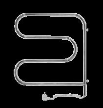 Полотенцесушитель электрический Terminus F-образный-поворотный, 32/20, 50 x 50 см