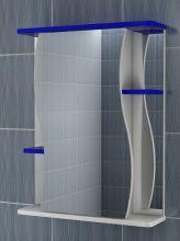 Зеркало-шкаф Vigo Alessandro 3-55 синий