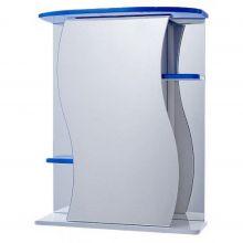 Зеркальный шкаф Vigo Alessandro 3-55 синий