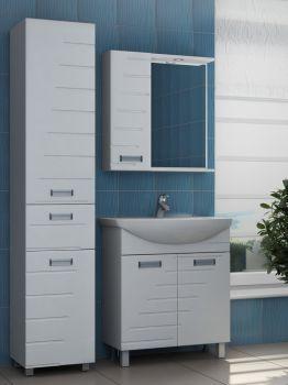 Зеркало-шкаф Vigo Diana 70 с подсветкой