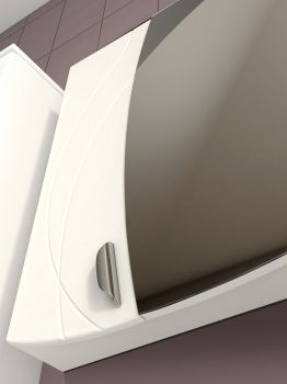 Зеркало-шкаф Vigo Faina 1-60 с подсветкой