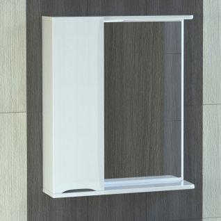Зеркало-шкаф Vigo Minor 60 с подсветкой, шкаф слева