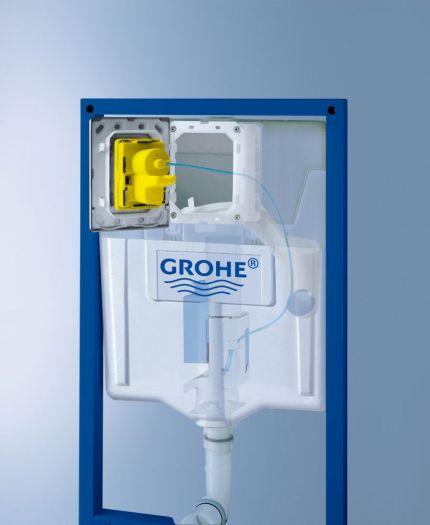 Инсталляция Grohe Rapid SL 38721001 3 в 1 с кнопкой смыва