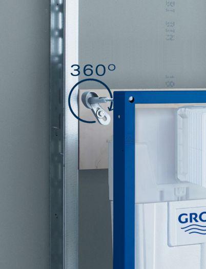 Инсталляция Grohe Rapid SL 38929000 4 в 1 с кнопкой смыва