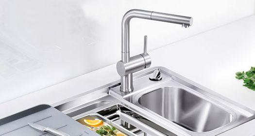 Смеситель Grohe Minta 32168000 для кухни с выдвижным изливом