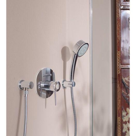 Смеситель Grohe BauClassic 29048000 для ванны и душа со встроенным механизмом