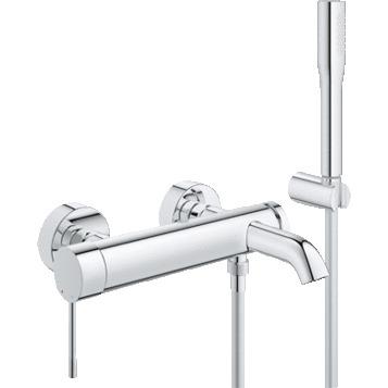 Смеситель Grohe Essence New 33628001 для ванны и душа с гарнитуром