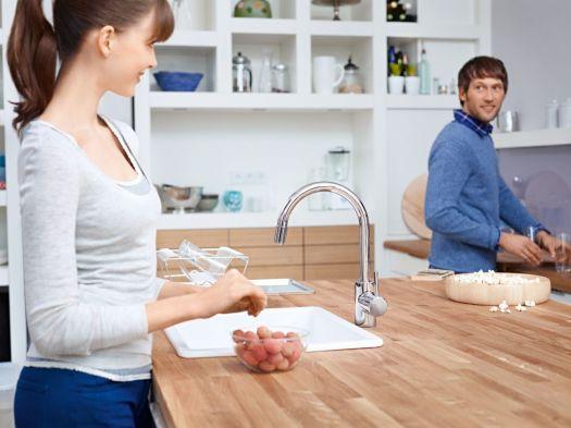 Смеситель Grohe Concetto New 32663 DC1 для кухни - суперсталь