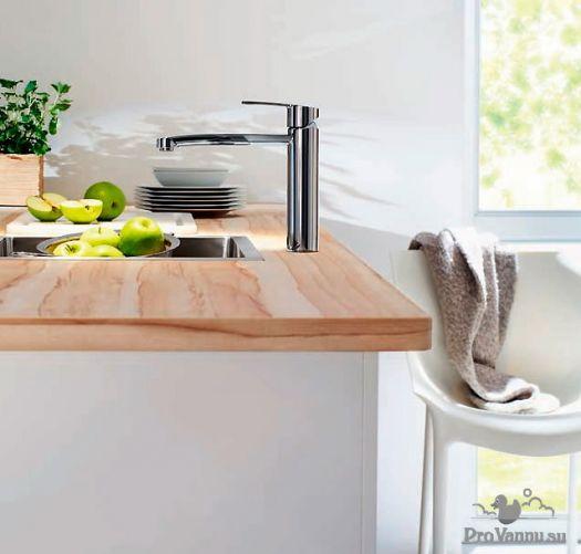 Смеситель Grohe Eurostyle Cosmopolitan 31153002 для кухни