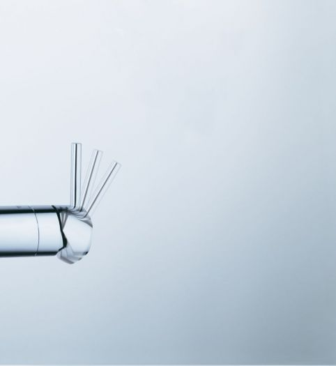 Смеситель Grohe MINTA 32168DC0 для кухни с выдвижным изливом, суперсталь