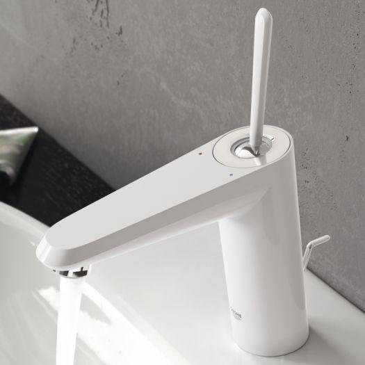 Смеситель Grohe Eurodisk Joystick, S-Size 23425 LS0, для раковины со сливным гарнитуром